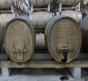 Barrels at LA Cetto