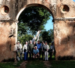 group at Hacienda Uxmal